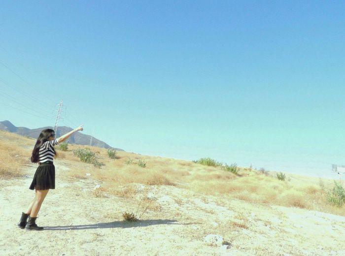 Model That's Me Desert Freedom