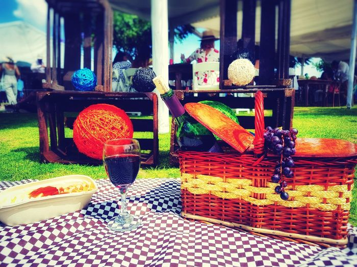 Pic nic Wine Red Camenbert Fruit Food And Drink
