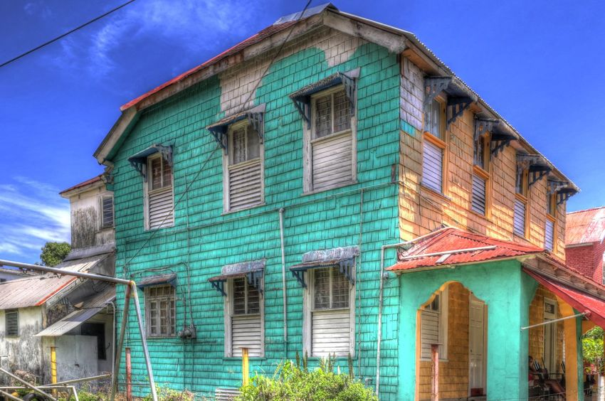 House on the Titchfield Peninsula Parish Portland The Graphic City Titchfield Peninsula Building Delapidated House Jamaica Port Antonio