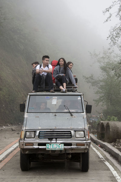 Adult Adventure Backpacking Bonding Car Cheerful Danger Driving Friendship Fun Jeep Journey Outdoors People Road Road Trip Small Group Of People Togetherness Transportation Travel Vacations Wanderlust Women Young Adult Young Women