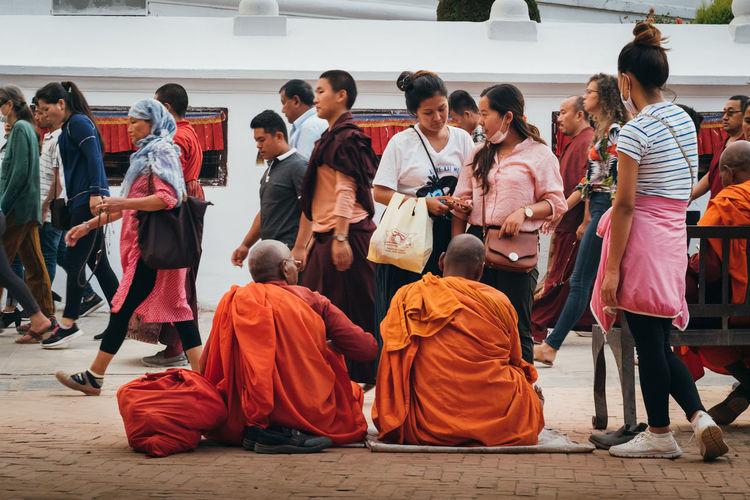 Monks Buddhism