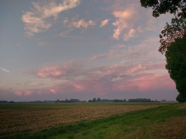 Landscape Cloud - Sky Sunrise Zeeuws Vlaanderen Zeeland  Autumn The Netherlands Beauty In Nature Outdoors