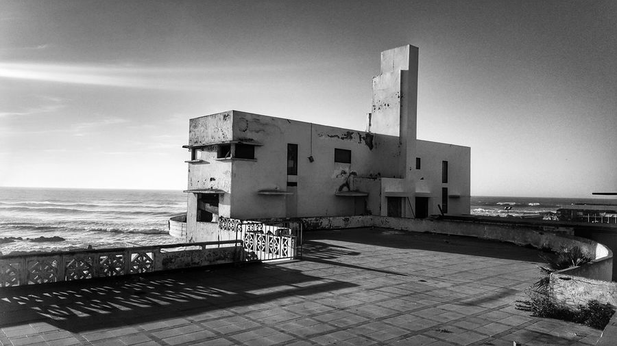 Welcome To Black Sea History Architecture Archival War Sky Building Exterior Beach Built Structure Outdoors Business Finance And Industry Day No People Military CasablancaStreets Casablanca, Morocco