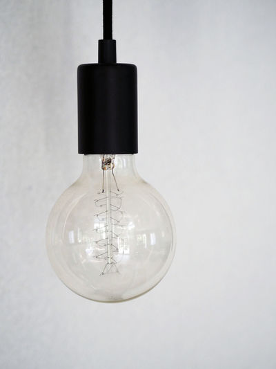 Bulb Close-up Day Electricity  Hanging Indoors  Light Light Bulb Light Bulbs No People White Background