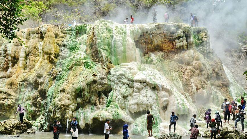 Nature INDONESIA Hotsprings Simalungun Tinggiraja People