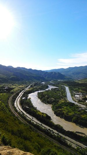 Georgia Nature Road Mtkvari River Mobile Photography Htc One M8s