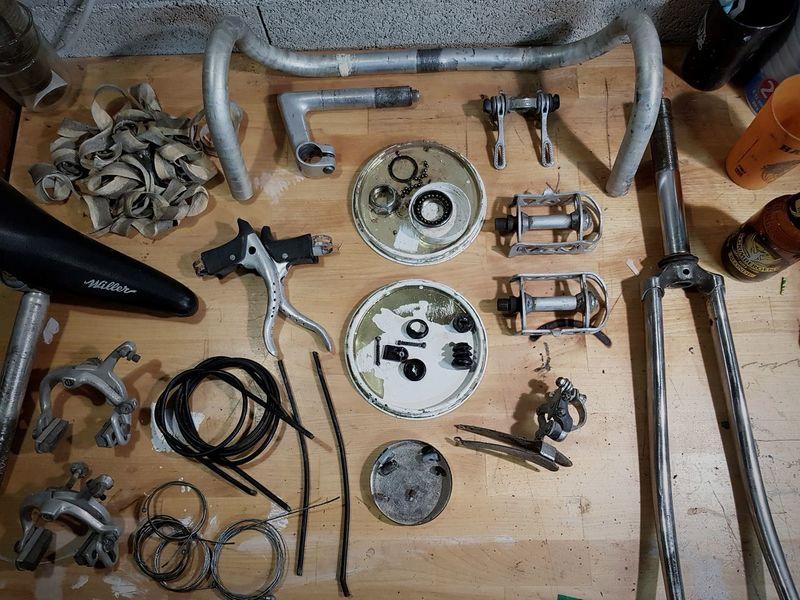 Bike Parts Peaces EyeEm Selects Workshop Work Tool Close-up