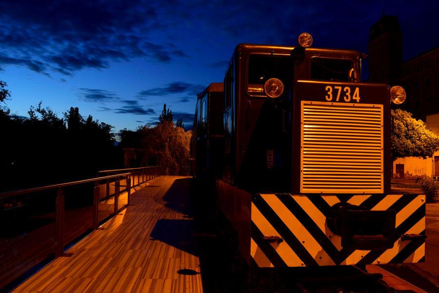 City City Life Cloud Cloud - Sky Night Nikon Nikon D3300 Nikonphotography Outdoors Train Cities At Night Békéscsaba Békésmegye Hungary