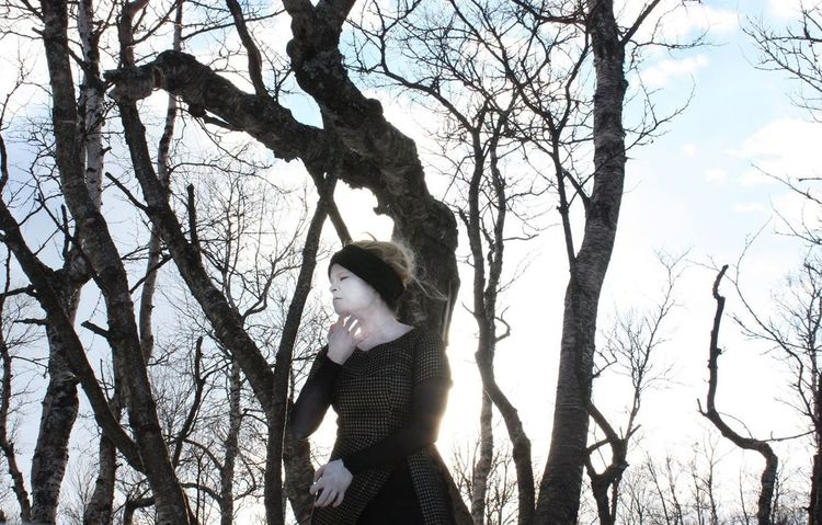 A still from my film Jorinda's Yourney. Vaja Productions Art Mothernature Artworks Butoh Butoh Dance Tree Dance Experimental Photography Art Photography Scenography Biutifull Photo Art, Drawing, Creativity Artworks ©Liselottewajstedt Tree One Person Bare Tree Standing Nature Winter Land Clothing EyeEmNewHere