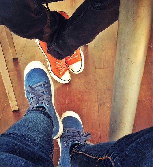 Hanging Out Chilling Manfriend  Relaxing Shoes Boots Converse Palladium