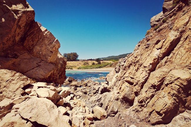 Sandy Cove Beach on the Sonoma Coast in California. Sonomacounty California Beach Landscape