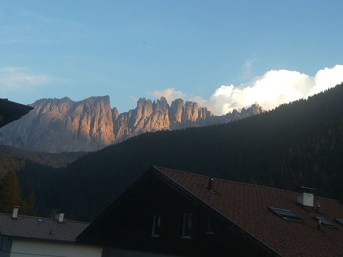 Latemar coming Red colored..from my vacation house 😊 Dolomites, Italy Dolomites Mountain Tree Sky Mountain Range Mountain Peak Valley Rocky Mountains Mountain Ridge Pine Tree