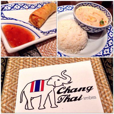 Kleines Thai Dinner im Chang Thai