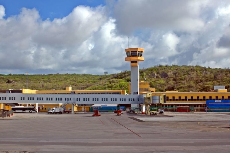 Cloud - Sky Sky Built Structure Architecture Building Exterior Transportation Mode Of Transportation Airport Tower Outdoors Hato Airport Caribbean Airport