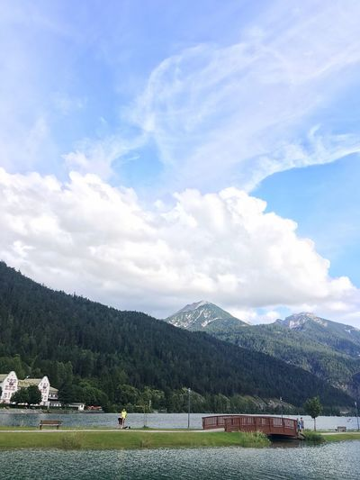 Achensee Achenkirch Österreich Austria Lake Lake View Tirol  Austria ❤ Austria Landscape Landscape_Collection Landscape_photography No Filter IPhoneography
