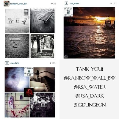 Hello friends! Today i want to show some respect to the pages that featured my pics the last days. Every single feature is a great honor for me! Thank you @rainbow_wall_bw Rainbow_wall_bw Thank you @rsa_water Rsa_water Thank you @rsa_dark Rsa_dark Thank you @igdungeon Igdungeon