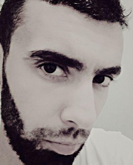Face Portrait Beard Hello World