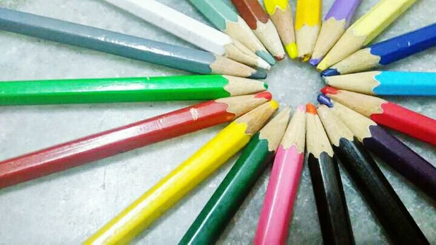 Colors Colorful Pencil Colorpencils Arranged Lowlightshot Low Light Image Things I Like Taking Photos Hyderabad,India