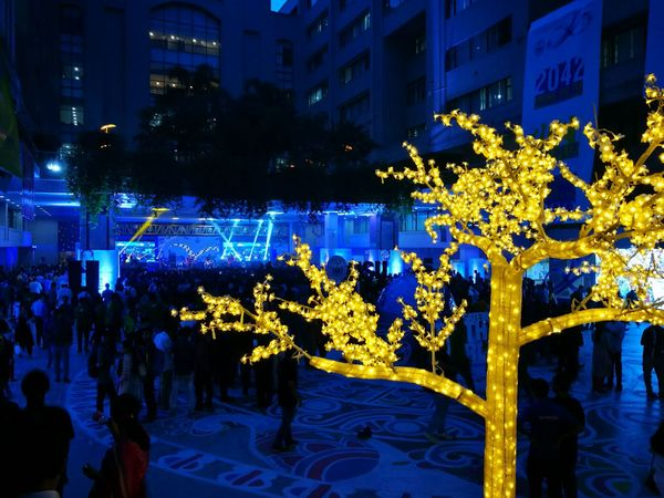 Night Illuminated Celebration Outdoors People Architecture Crowd Nsu