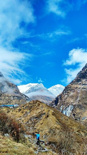 Trekking #travelling #sightseeing Mountainview Happytrekker Blessedfrommountains