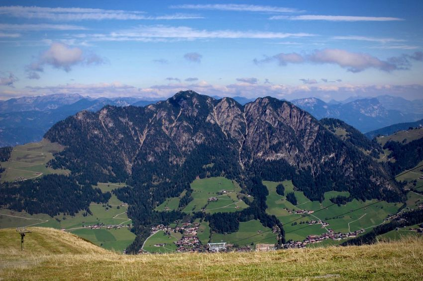 Alpbach Alpbachtal Gratlspitz Mountain Landscape Nature No People Outdoors Beauty In Nature
