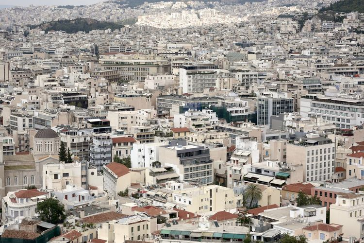 Athens City Athens, Greece Rooftop Architecture Building Building Exterior Built Structure City Cityscape Full Frame Greece Residential District TOWNSCAPE