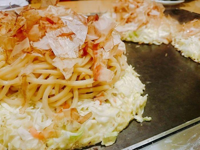 Yummy. お好み焼き おこのみやき 御好燒 大阪燒 什錦燒 Okonomiyaki 隨意燒 Food Japanese Food OSAKA