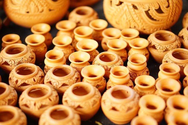 Pottery Pottery Art Pottery Factory EyeEm Selects Abundance Business Finance And Industry Indoors  Large Group Of Objects No People Store Retail  Day Quality Close-up