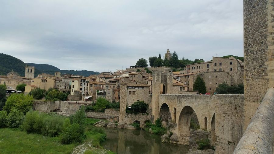 Besalú Pont De Besalú, Catalunya Relaxing Enjoying Life Everyday Joy