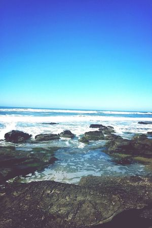 Taking Photos Sunnyday Beach Happiness