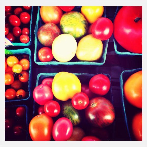 Heirloom tomatoes Heirloom Tomatoes Farmstand Fresh Produce Tadaa Community