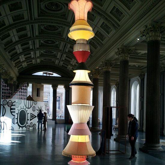 'Lamp Shade Art' GalleryOfModernArt Glasgow  Scotland Light LampShades ModernArt Art Photography Instagram NoFilters