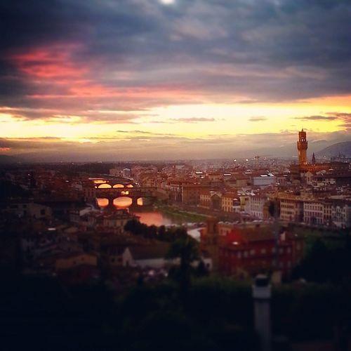 Firenze Sunset Sunsetporn Cityscape Cityview
