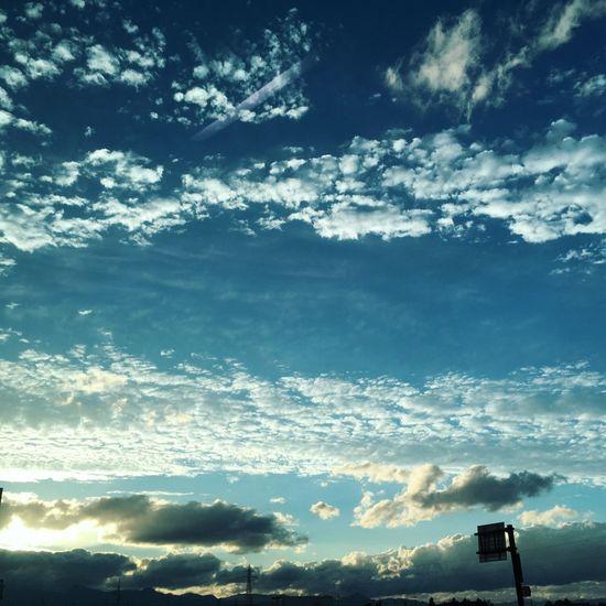 空 青 雲 Sky Blue Beauty In Nature
