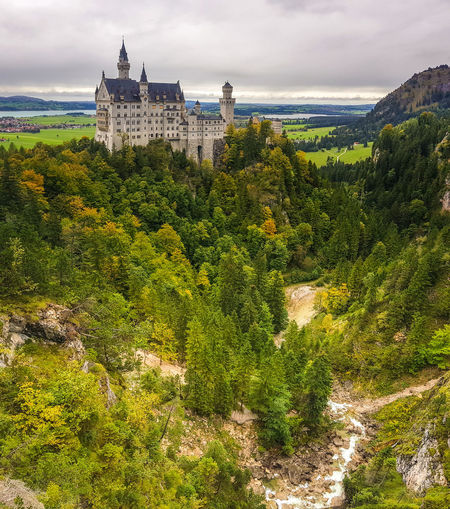 Schloss Neuschwanstein Bavaria Schloss Neuschwanstein EyeEmNewHere Relaxing Enjoying Life Eye4photography  EyeEm Nature Lover EyeEm Best Shots Mountain Landscape_Collection Landscape_photography Autumn Germany Castle