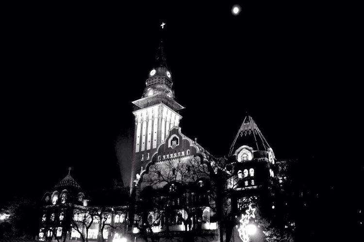 Night Lights Nightphotography Darkness Cityhouse Night Old Pic