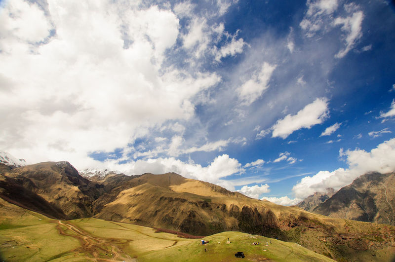 shoot in kazbegi mountion Beauty In Nature Cloud Cloud Cloud - Sky Clouds And Sky Cloudscape Cloudy Dramatic Sky Grass Kazbegi Landscape Majestic Mountain Mountain View Mountains Nature Nature Photography Nature_collection Outdoors Sky Tranquility