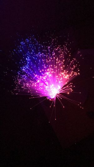 Night Firework Display Exploding Lights Powercolors Illuminated Oneshot Room Design ...✨✨