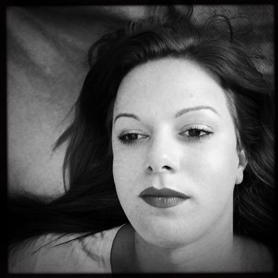 """""""Finding Infatuation"""" ... Monochrome Bw_collection B&W Portrait Blackandwhite IPhoneography Shootermag WeAreJuxt.com AMPt_community NEM Black&white Theappwhisperer shot with 6x6, edited with Oggl Monochrome Photography"""