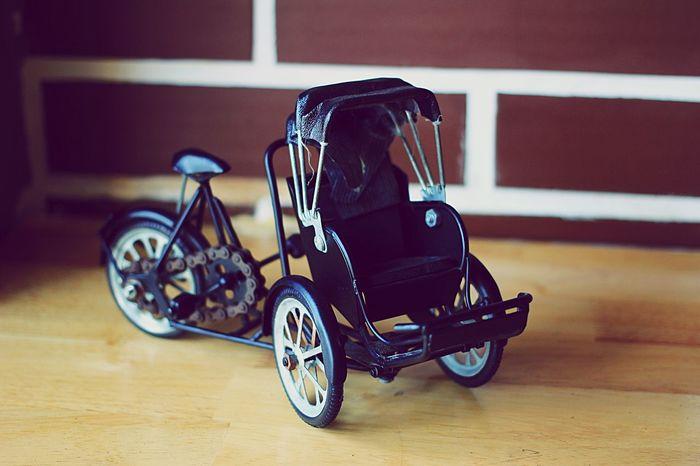 Bicycle rickshaws Combodia