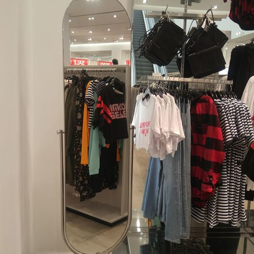 H&M Clothing Store Clothing Brand Shopping Time Retail Store Hanging Store Retail  Business For Sale Indoors  No People Day