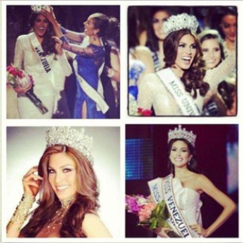 MissUniverse2013 MissUniverseVenezuela Missuniverse2013venezuela Congratulations ??❤?