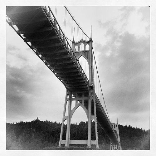 St. John's Bridge Pdx Pdxlove Pdxcavation Instameetpdx Instapdx