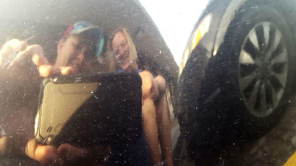 Reflection Reflection_collection Reflections Car Bumper Bumper Date Night Dinner Night The Other Half My Love My Love❤ Kansas City Rancho Grande Parking Lot Waiting Waiting For A Table Love Her Love Her ❤ Eye Em Best Shots EyeEm Best Shots Reflection Perfection  Hanging Out My Love ❤ Eye4photography  EyeEm Gallery EyeEm Best Edits