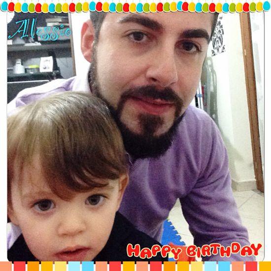 Oggi hai compiuto 2 Anni Nipotino mio. Buon Compleanno Alessio ! ❤️ ? Tuo Zio Fernando ☺️