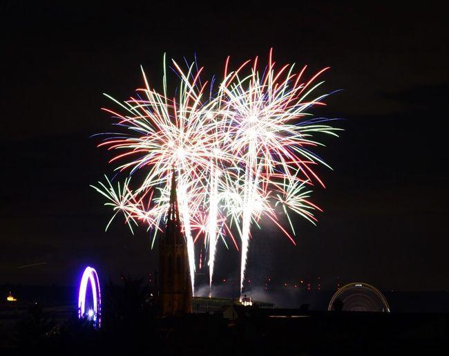 Wurstmarkt Fireworks Feuerwerk Bad Dürkheim