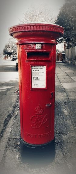 """""""communication..."""" Red Post Communication Is Everything A New Beginning Mailbox Mail Slot Envelope Letter Send Postage Stamp Information"""