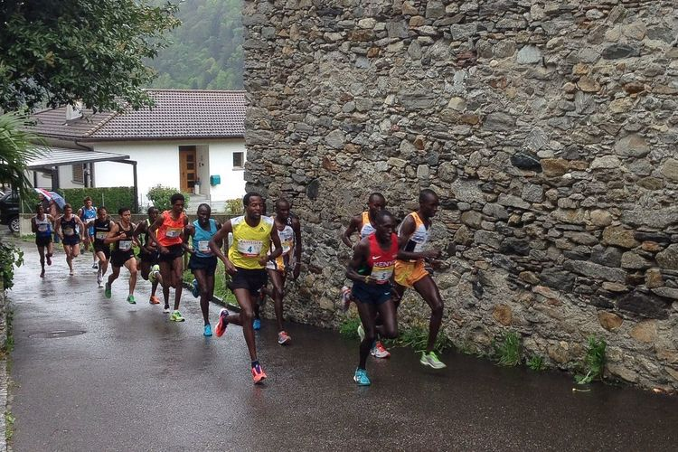 The world's best Runners in Valle Di Blenio . Sport Jogging