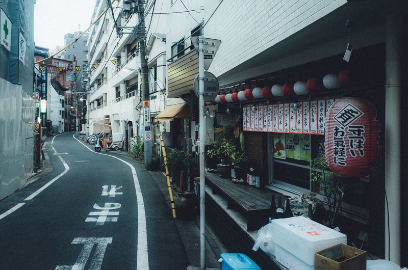 Backalley Backstreets & Alleyways Izakaya Japan Japan Lovers Japanese Culture Old Meets New TOKYO TOKYO Old Meets New Tokyo Urban Exploration Architecture Building Building Exterior Built Structure City Communication Diminishing Perspective Direction Japan Travel Japan Trip  Marking No People Non-western Script Residential District Road Road Marking Script Sign Street Symbol Text The Way Forward Transportation Urban