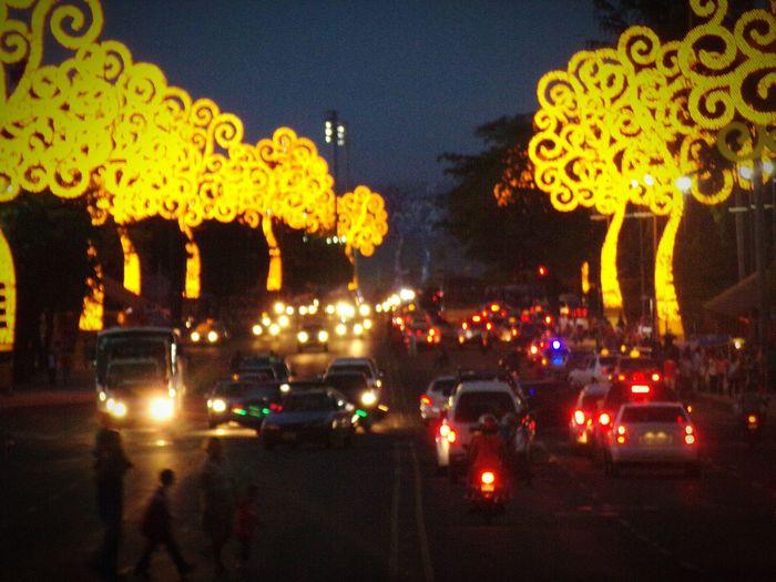 Managua Avenida Bolivar Nicaragua Hello World Nigthphotography Night View